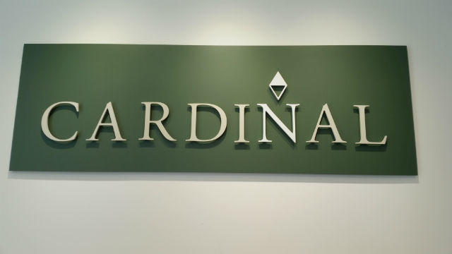 Cardinal Capital Group Corporate Signage Plaque