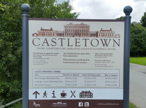 Castletown House Information Signage