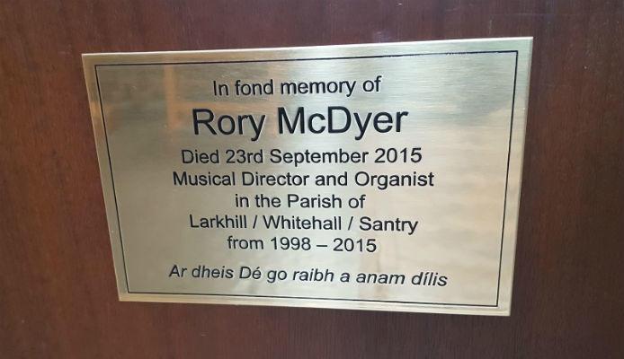 Memorial plaques Dublin