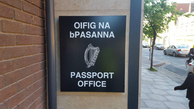 Aluminium Signs Passport Office Dublin