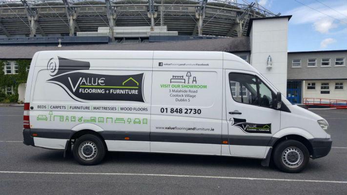 Van Graphics - Fleet Graphics - Sign Company Dublin