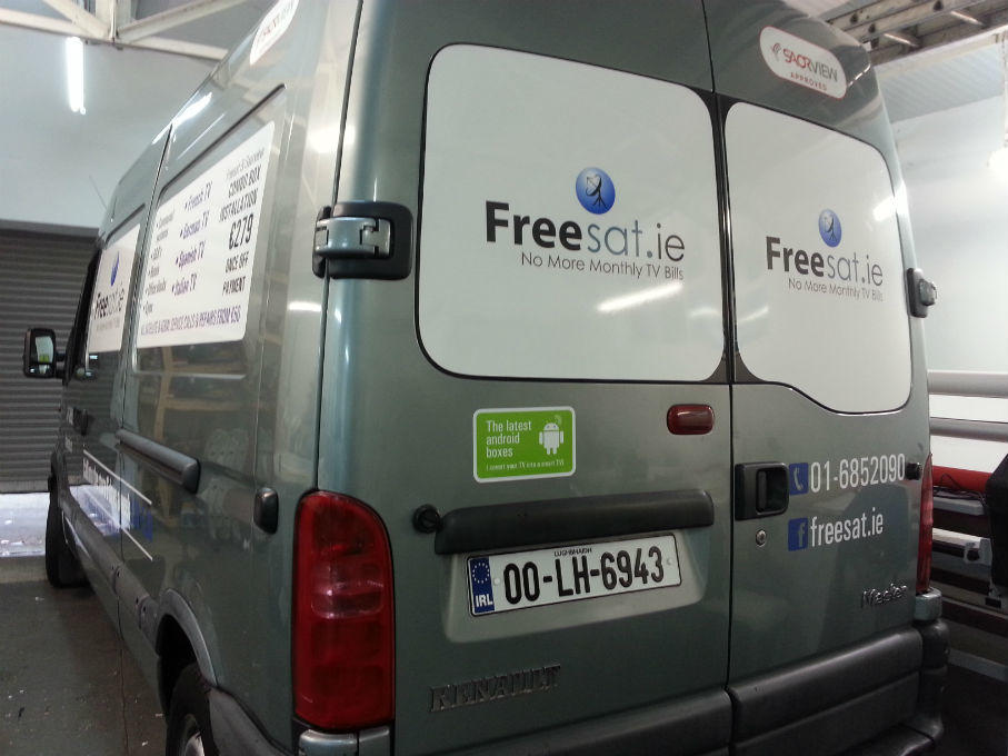 Vehicle Graphics Dublin