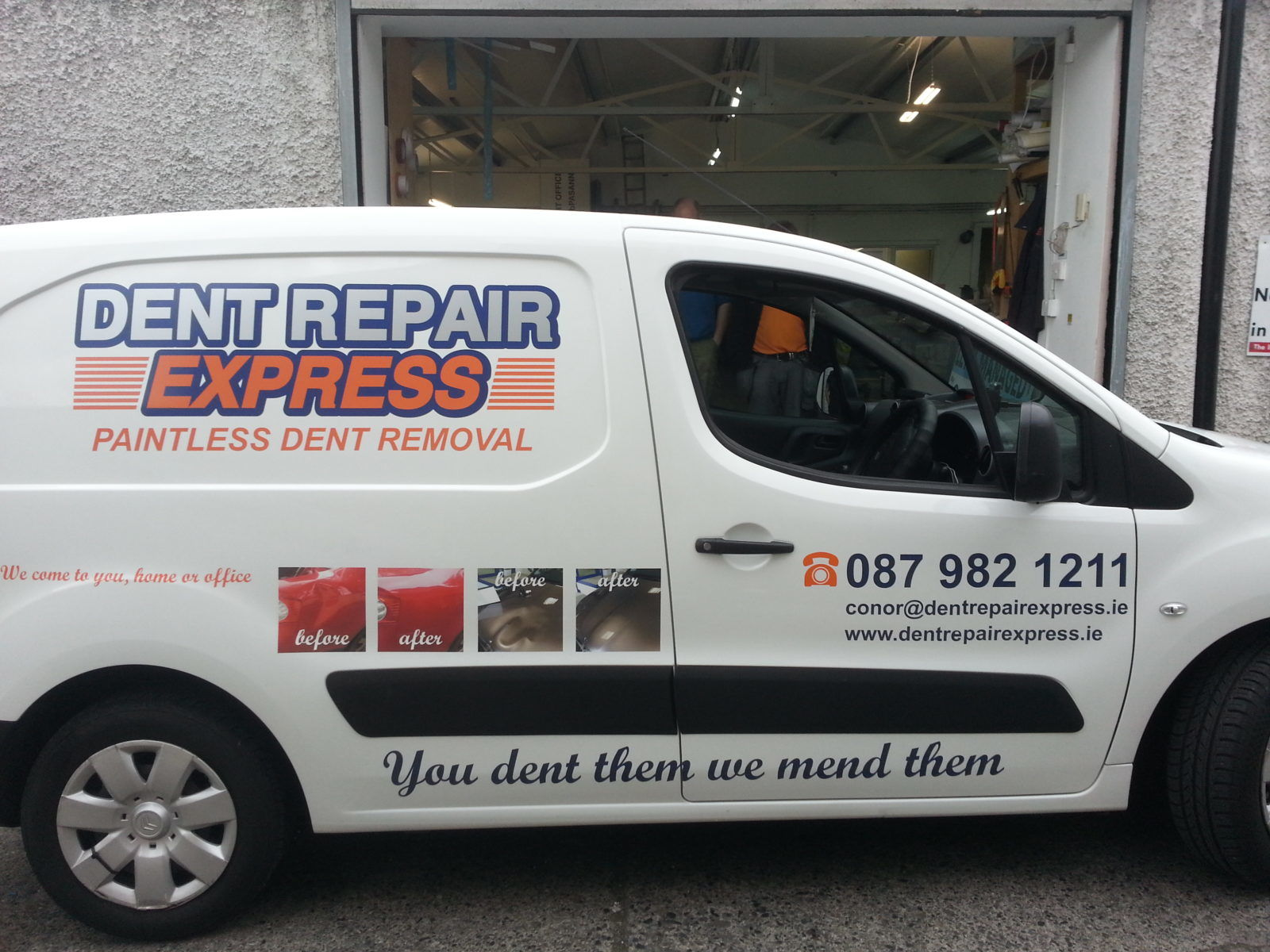 Vehicle Graphics, Van Graphics, Logo & Contact Details Dublin