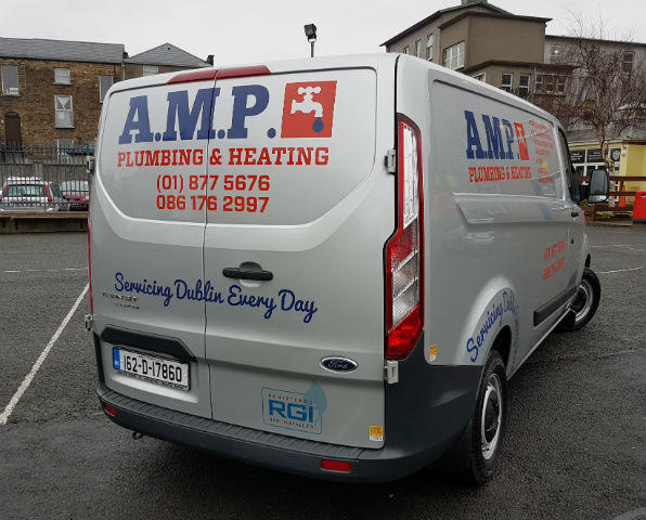 Van Graphics - Rear of Van - Graphics Dublin