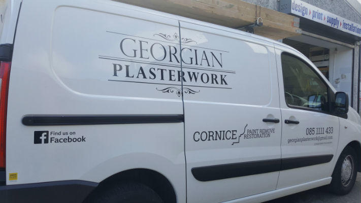 Van Graphics, Logo and Contact Details