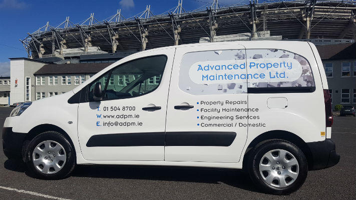 Fleet Graphics - Vinyl Van Graphics Dublin