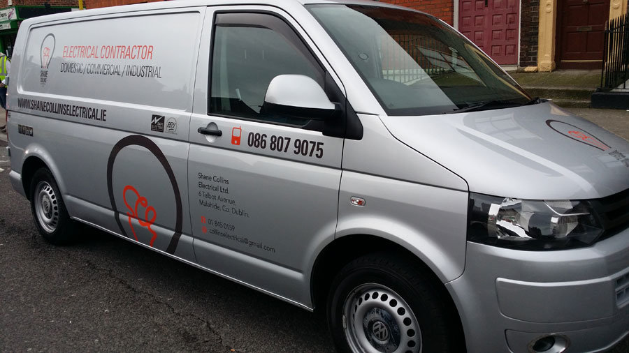 Van Graphics One Way Vision Film