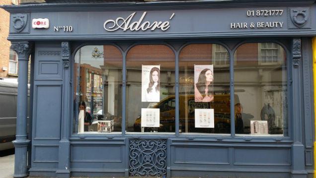 Shop Front Signage - 3mm Aluminum Silver Lettering