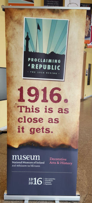 Pull Banners - National Museum Of Ireland 1916 - Pop Up Banners