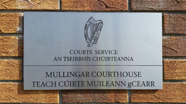 Stainless Plaque Mullingar Court House