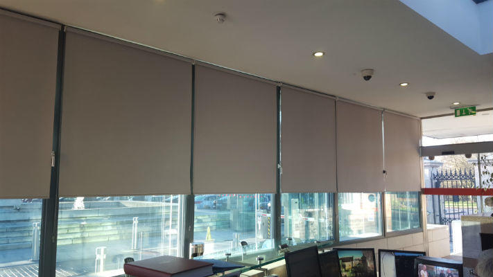 Roller Blinds With Screen Print - Dublin Post Office Signs