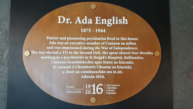 Bronze Plaques - Dr. Ada English