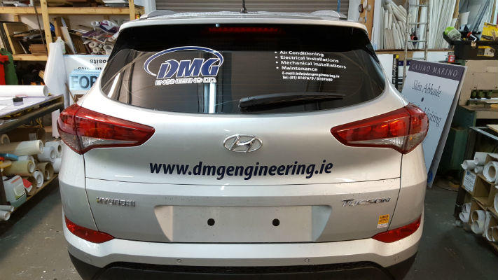 Car Graphics - Tinted Windows - Fleet Graphics - Dublin