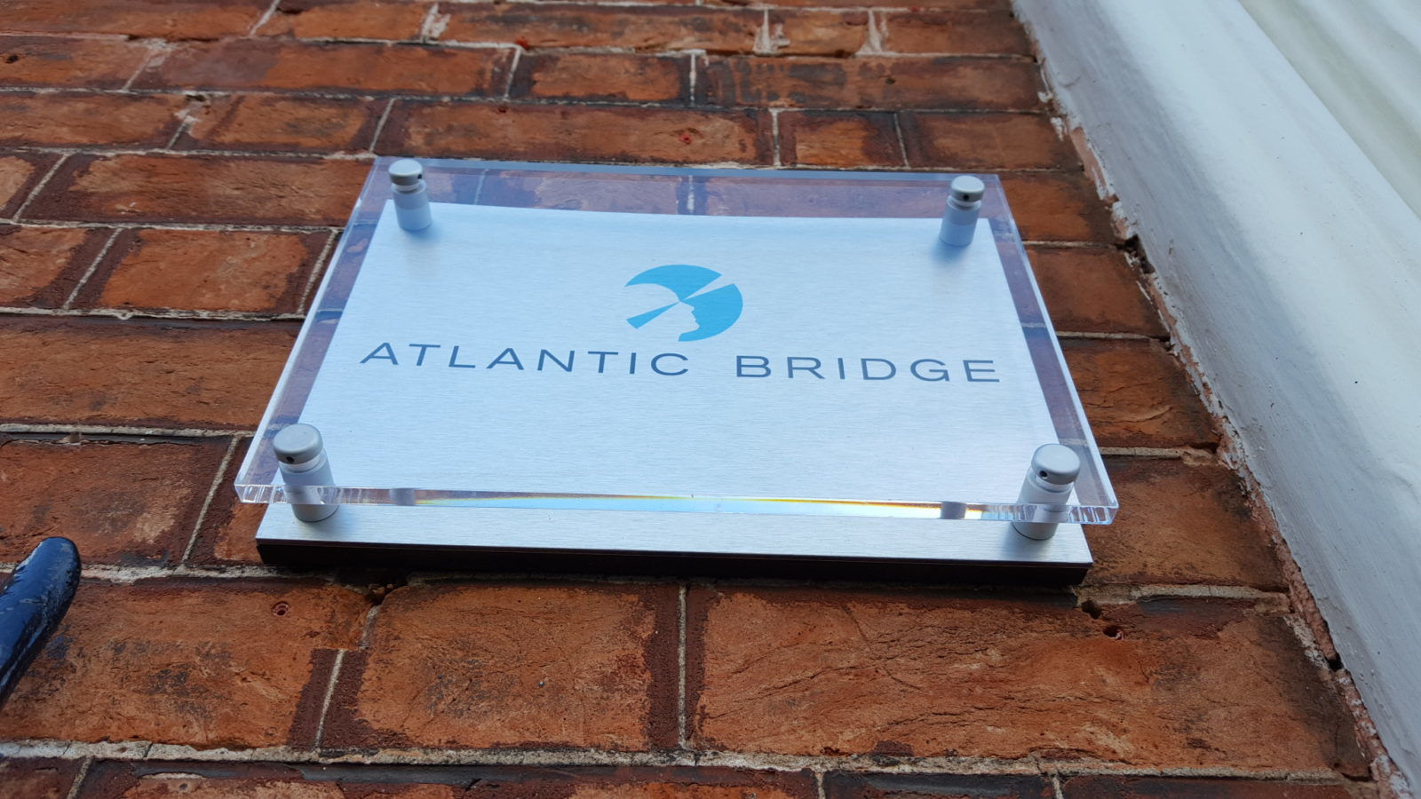 Stainless Steel Plaque with Perspex Cover