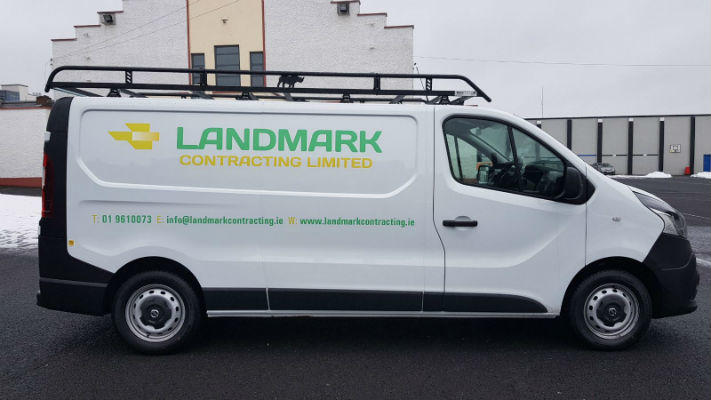 Van Graphics, Fleet Graphics, Logo and Contact Details