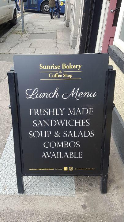 Pavement Sign Sandwich board