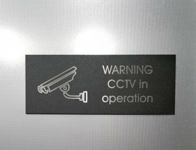 CCTV signage Dublin