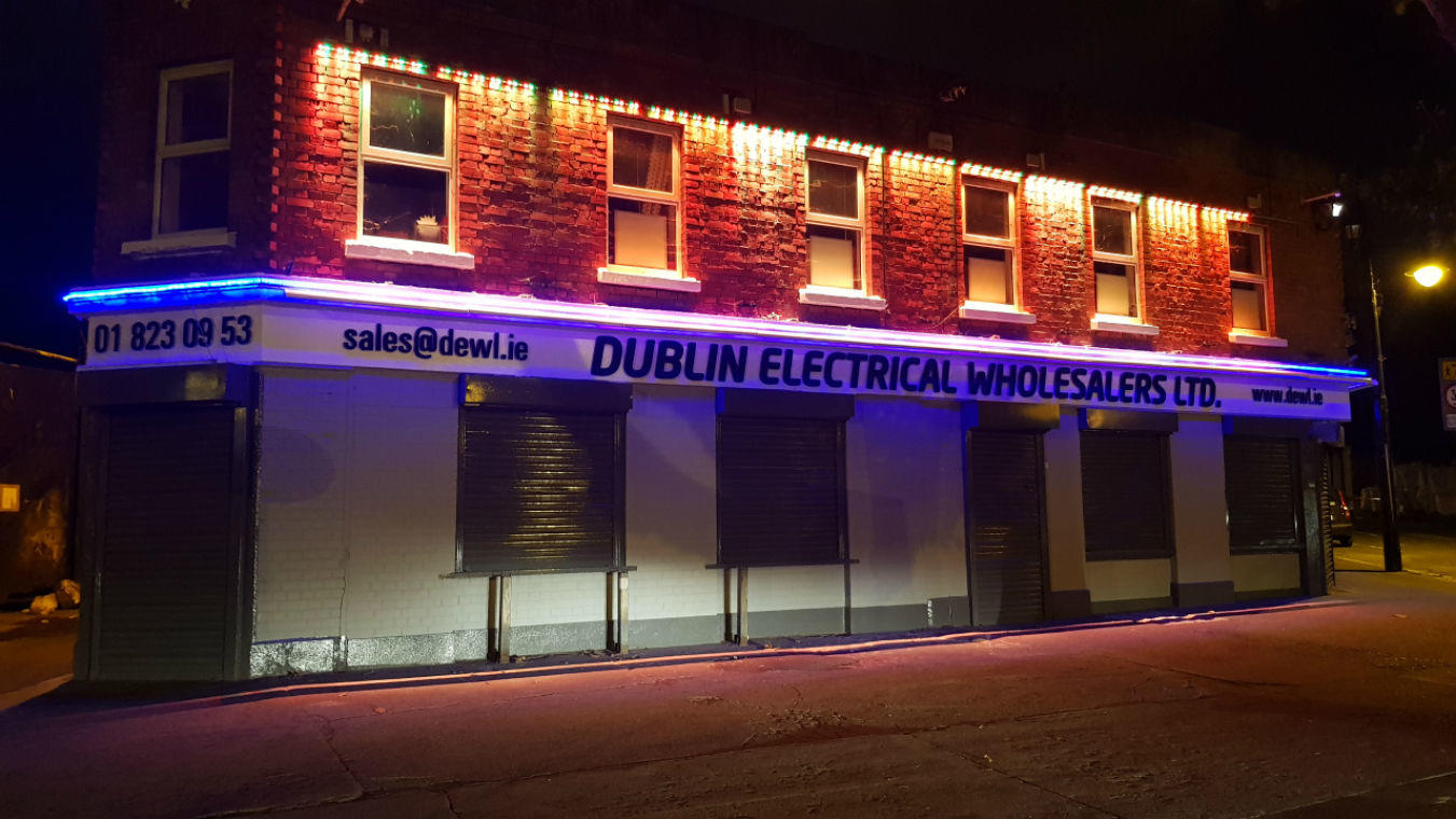 Shop Front Signage - Perspex Lettering - Dublin