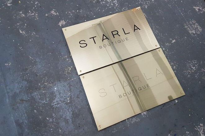 Brass Plaques - Business Plaques