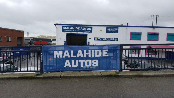 Malahide Autos Dublin - PVC Banner