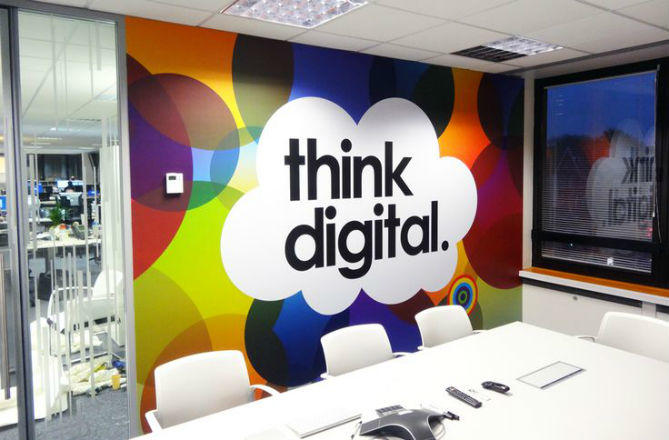 Think Digital Wall Graphic