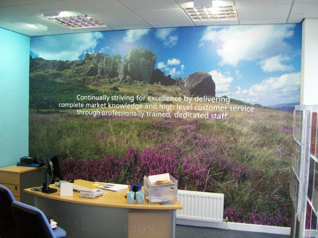 Wall Graphics - Brighten Up Your Office or Waiting Room