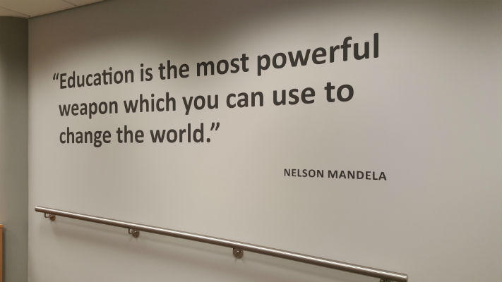 Wall Graphics - Nelson Mandela Quote
