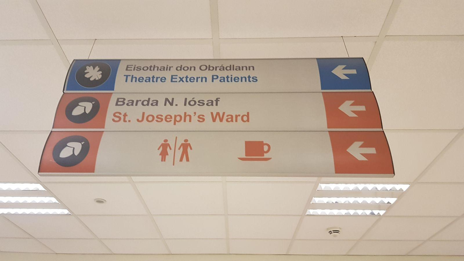 Safety Signage - Hospital Signs - Directional Signage