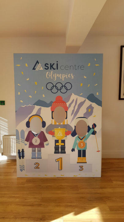 Wall Graphics - The Ski Centre Dublin