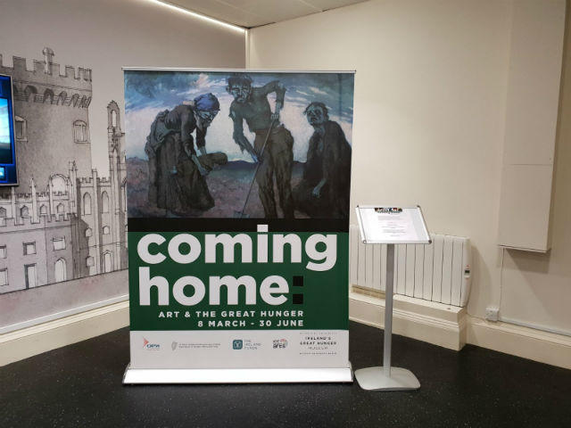 Pop Up Banners - Coming Home Exhibition Dublin
