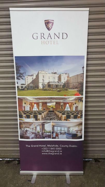 Pop Up Banners - The Grand Hotel