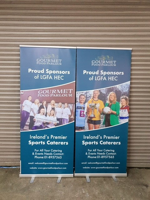 Pop Up Banners - Pull Up Banners - Exhibition Banners - Dublin