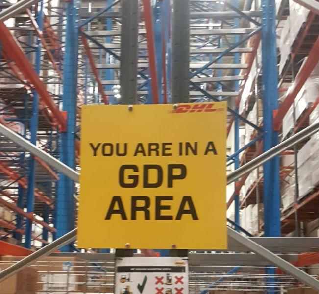 Safety Signage DHL