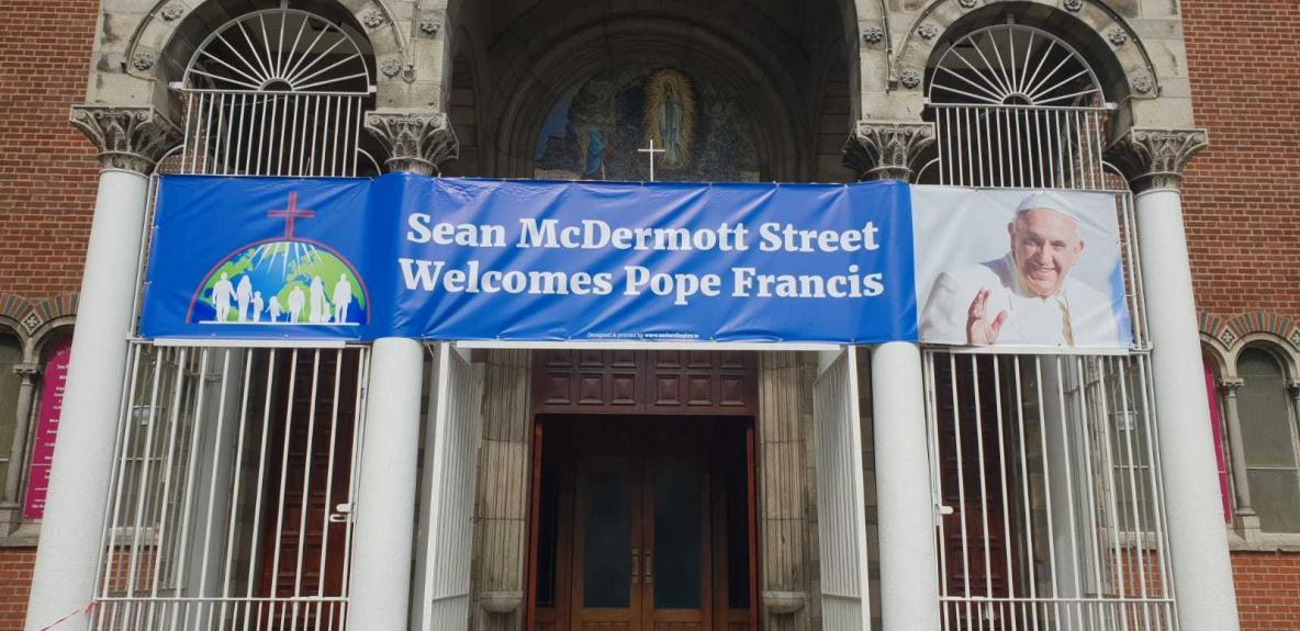 PVC BANNERS - POPES VISIT TO DUBLIN