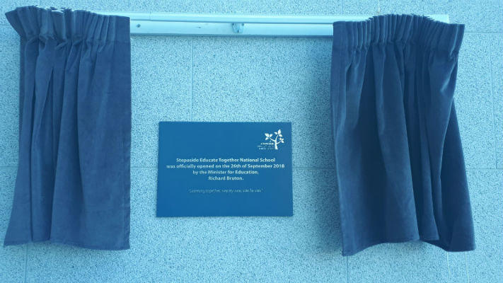 Official Opening Plaques Dublin