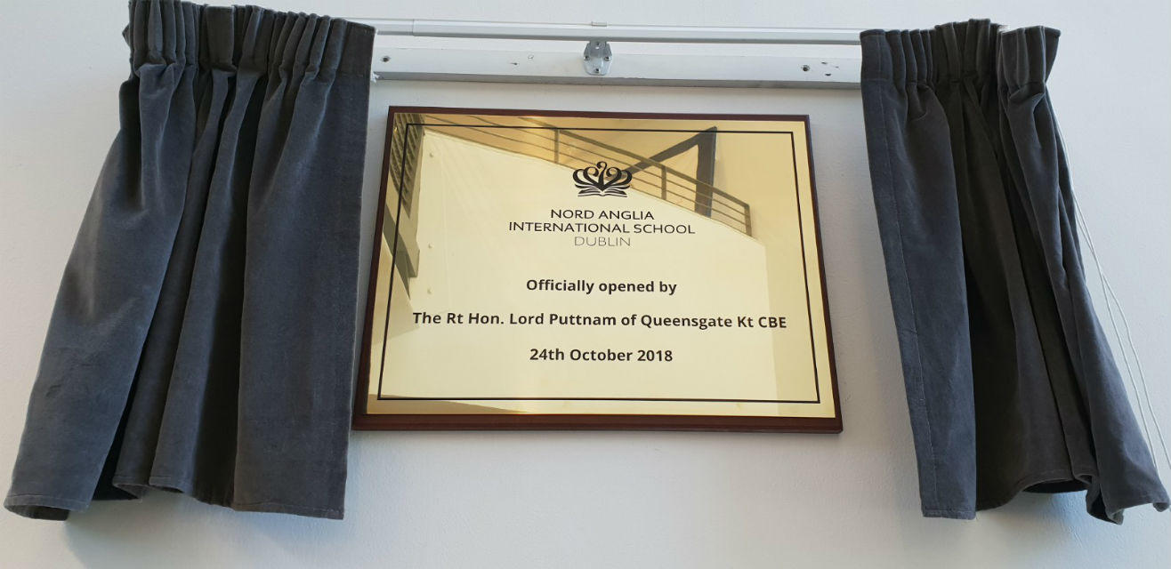 Official Opening Plaque & Curtain