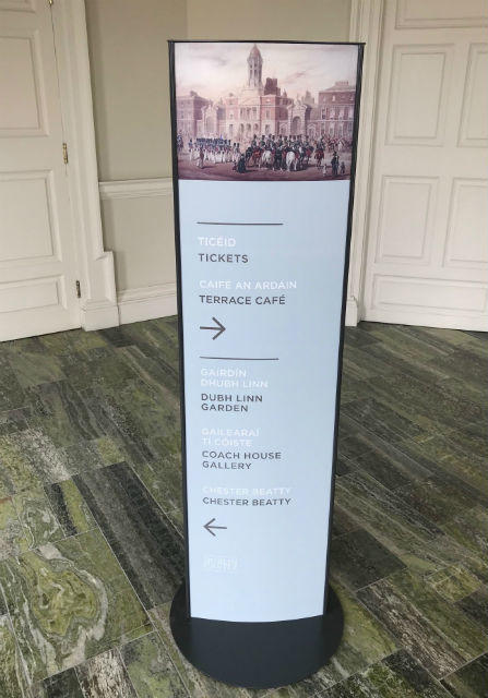 Exhibition Display Boards : Display stands exhibition stands notice boards dublin