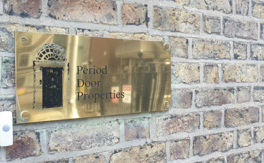 Brass Business Plaques