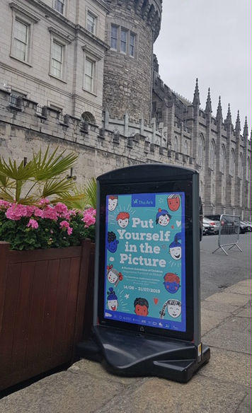Pavement Signs Dublin Castle