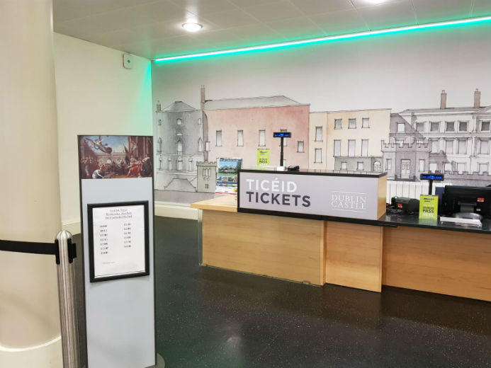 Ticket Desk Dublin Castle