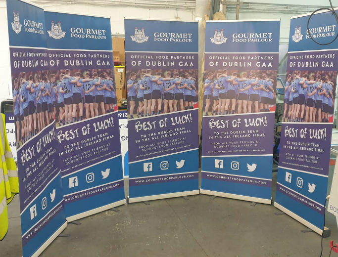 Pop Up Banners - Pull Up Banners