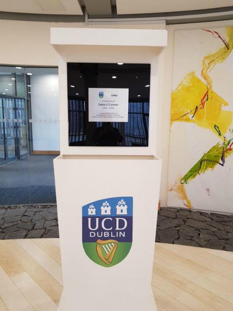 Memorial Plaque - Display Stand