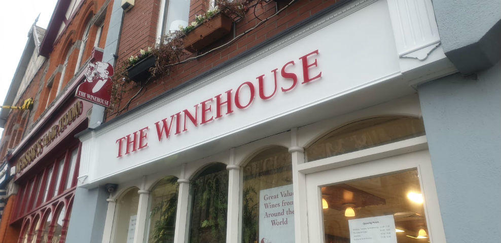 Polished Perspex Lettering for shop fronts