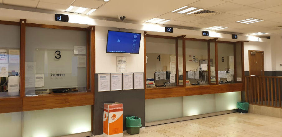 Roller Blinds Car Tax Office Dublin