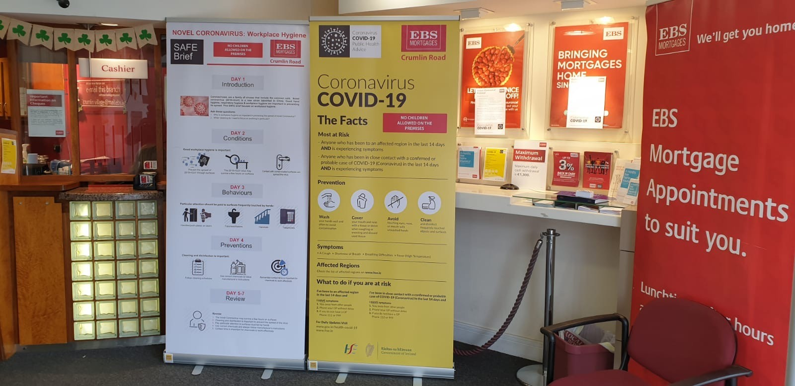 Covid 19 Pull Up Banners