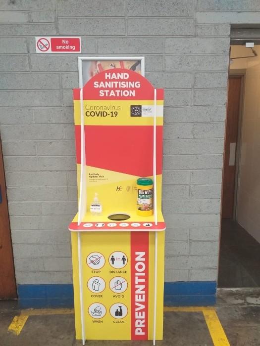 Hand Sanitising Station Dublin
