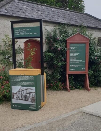 Informational Display Stands