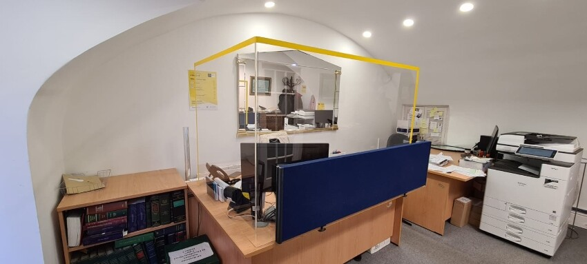 Perspex Screens For Offices