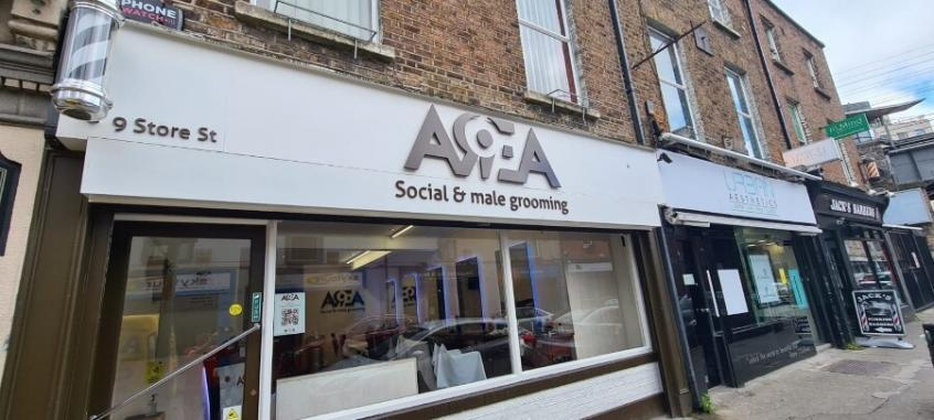 Perspex Lettering and Logo - Shop Front Signage Dublin