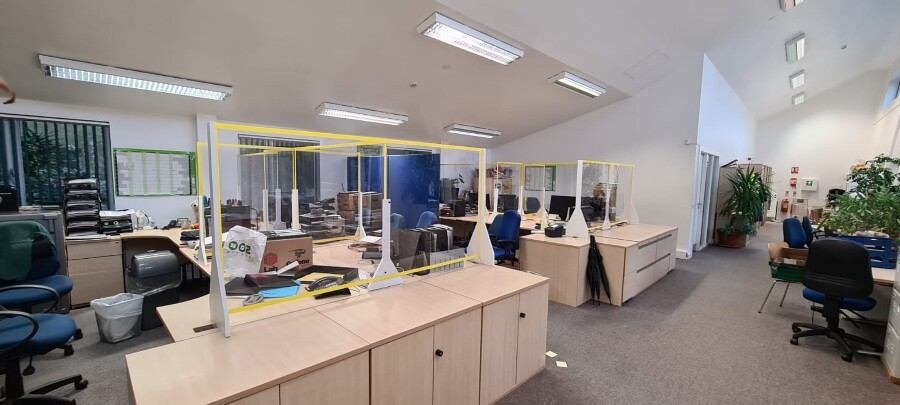 Perspex Screens Dublin Zoo Offices